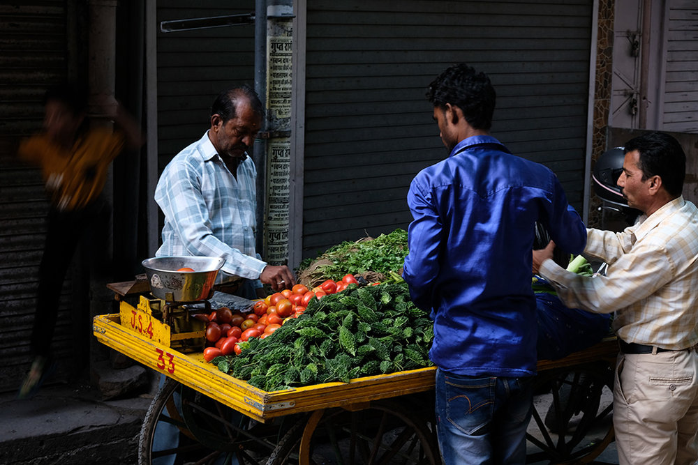 Morning Veggies, Jodhpur