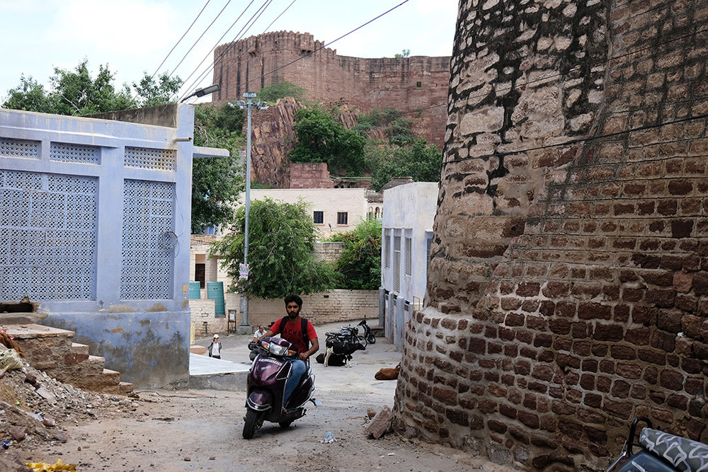The Fort walls, Jodhpur