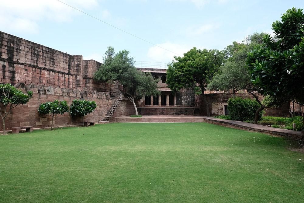 Like a bowling green, Jodhpur