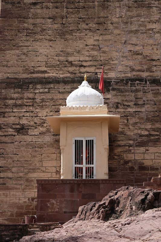 Litte Shrine, Merangarh Fort, Jodhpur