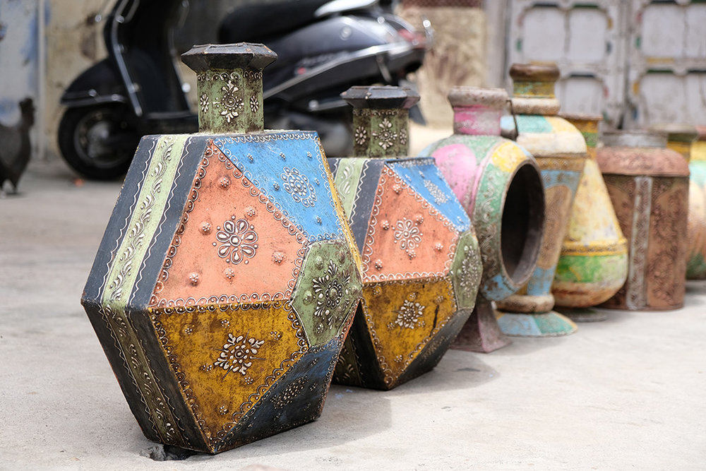 Street pottery, Jodhpur