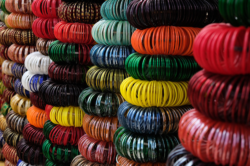 Bangles, Clock Tower market