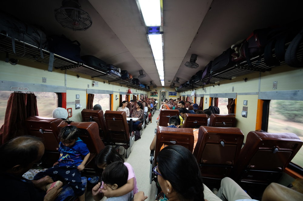 Chair Car, train 12466