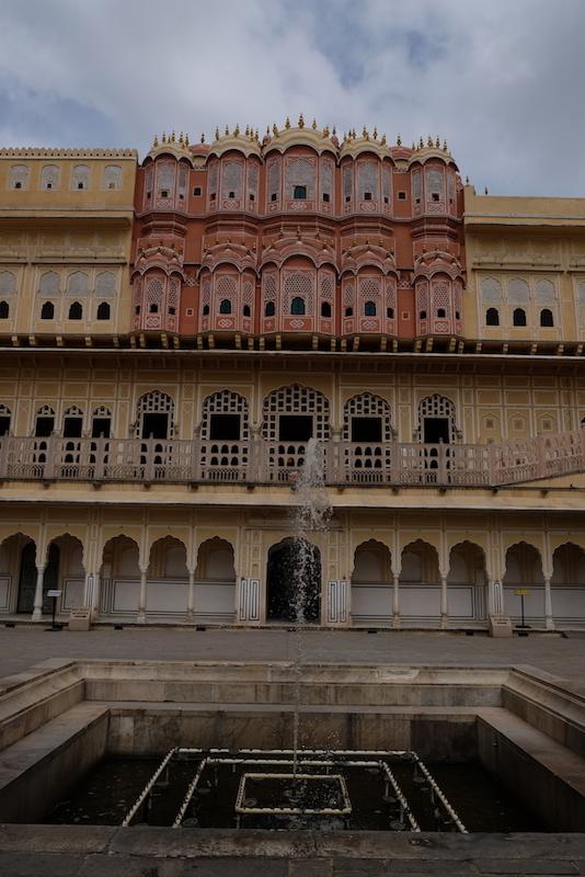 Rear view, Hawa Mahal