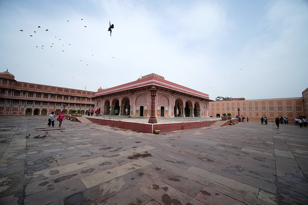2nd Courtyard with Diwan-I-Khas