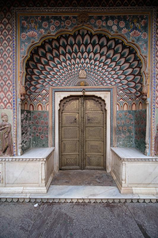 Peacock Door, Pritam Chowk, City Palace