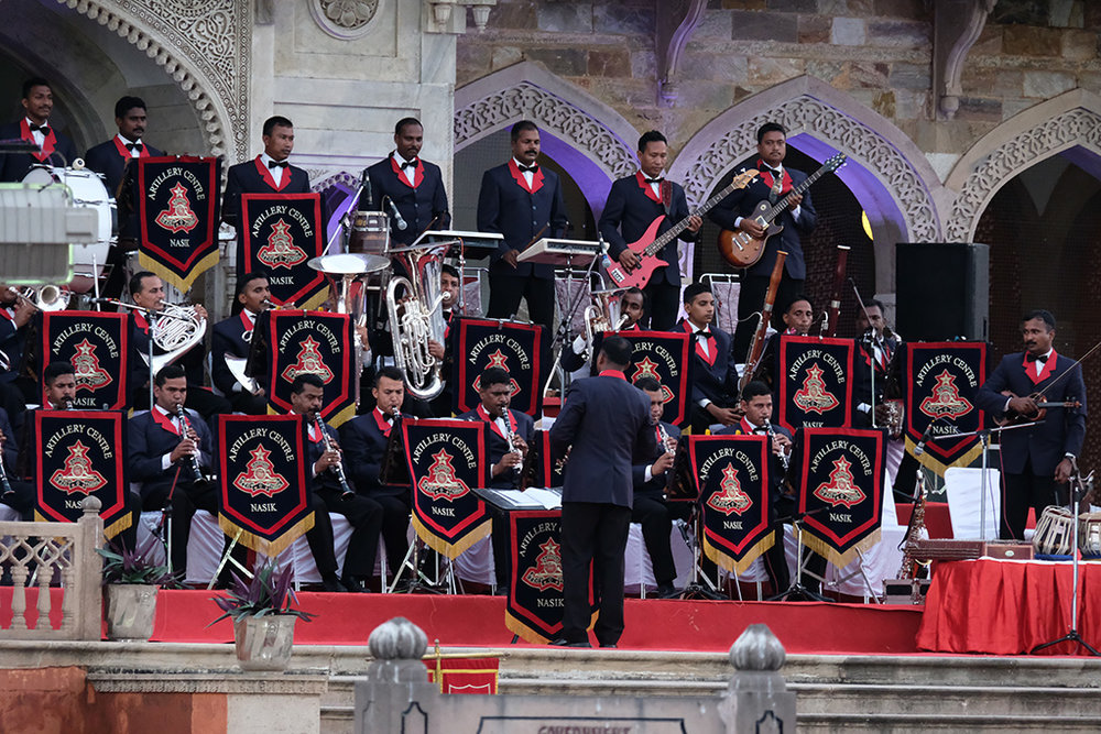 Armed Forces Band, Albert Hall