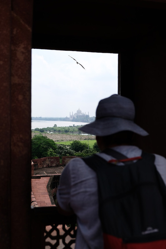 There is always someone..., Agra Fort