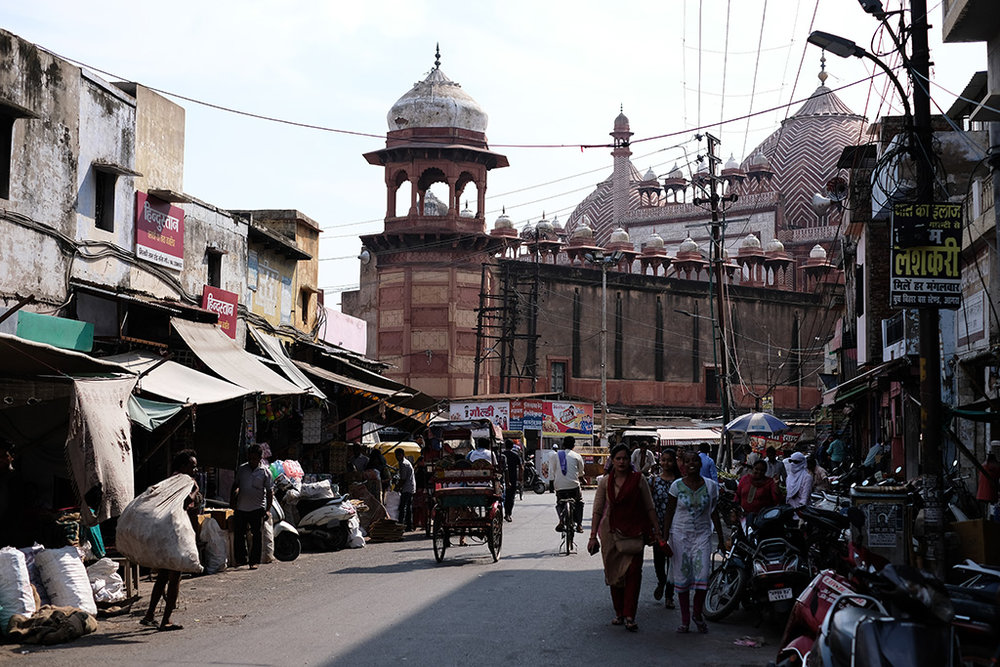 Jama Masjid from Subhash Bazaar