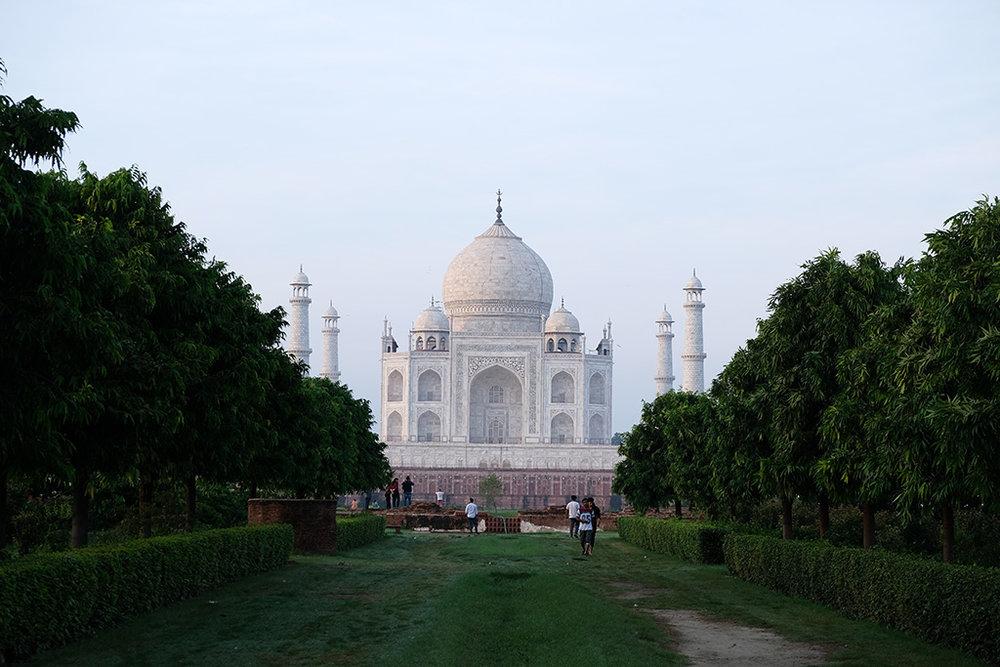 Taj Mahal from Mertab Bagh