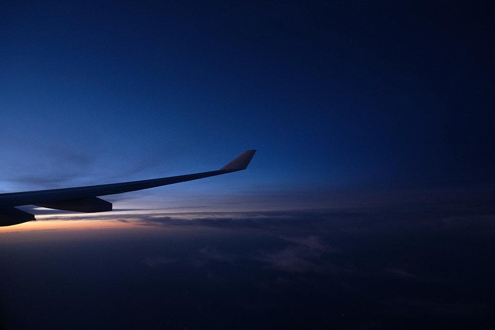 Sunrise over the South China Sea