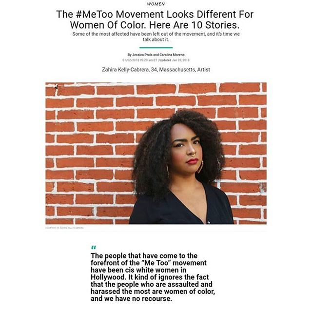 This is a great interview with @bad_dominicana from @huffpostwomen on how #metoo is different for women and people of color.