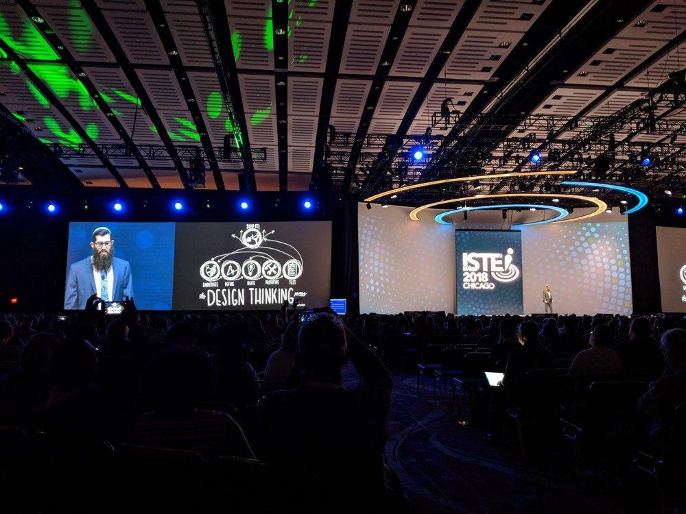 Michael Cohen, The Tech Rabbi as the ISTE Keynote Speaker