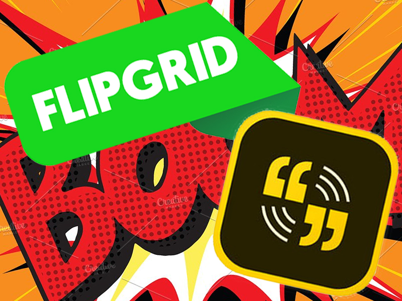 flipgrid adobe spark app smash