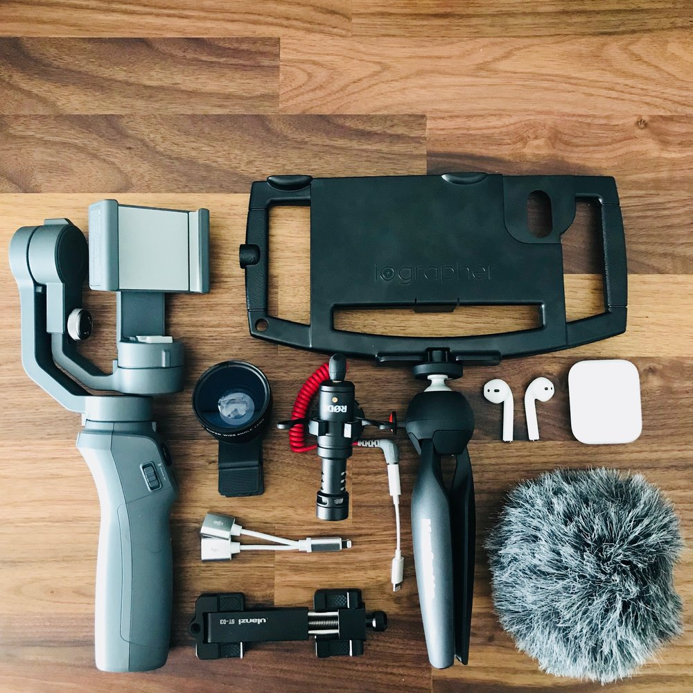 The Tech Rabbi approved gear - Click below to see my top picks for mobile filming, tech gear, gadgets and books!
