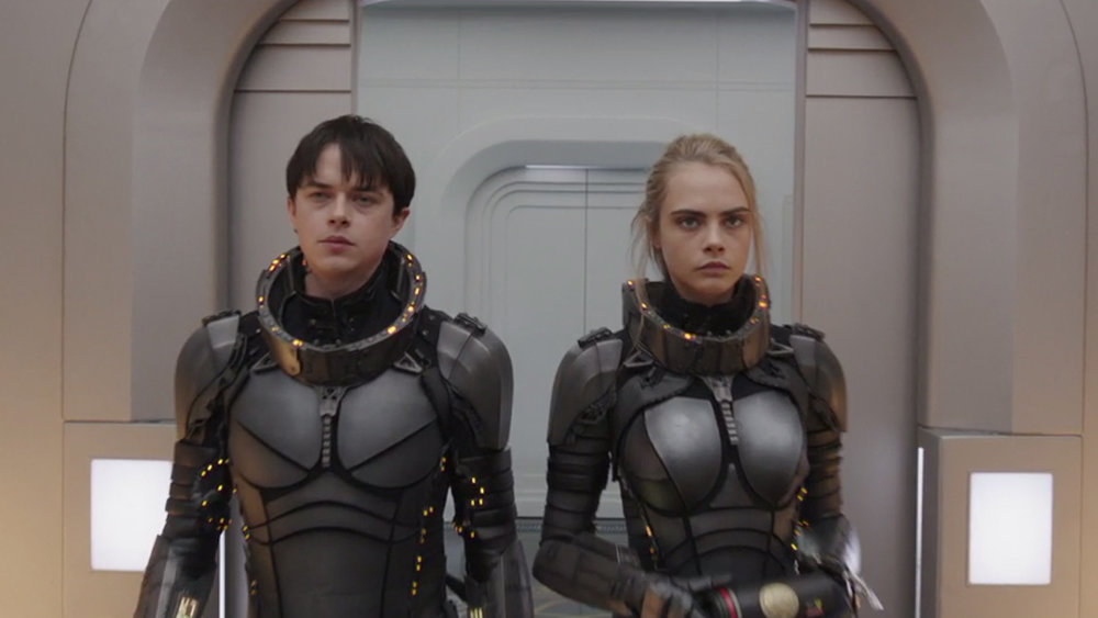 Besson's long in gestation, Valerian & Laureline adaptation, is often far too remote, and too goofy to see as anything more than a niche item.