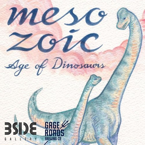 "MESOZOIC - Age of DinosaursCameron Brideoake - Join us for the opening of Mesozoic - Age of Dinosaurs, the latest solo exhibition by Cameron Brideoake, from 6-9pm Friday 27th October at BSIDE Gallery - proudly sponsored by Gage Roads Brewing Co!""Dinosaurs - Ever advancing science now brings us an incredibly detailed picture of them and the time they lived in, the Mesozoic Era, which spans 252-66 million years ago. This body of work is a journey back in time to Earth's distant past to understand more about these incredible creatures, but also to focus on recent developments in Palaeontology, as what we know about dinosaurs has drastically changed. Cameron's new body of work includes paintings, drawings, sculptures and writing inspired by the study of natural history and social issues surrounding science in education.""Mesozoic - Age of Dinosaurs will run from Wednesday 25th - Sunday 29th of October."