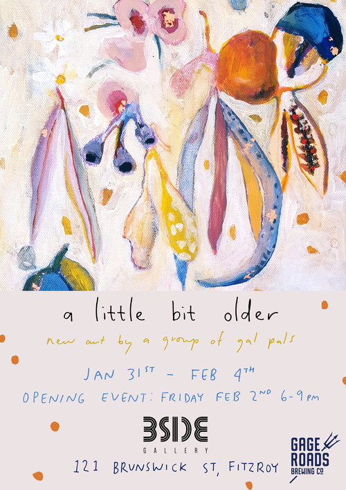 A LITTLE BIT OLDERNew art by a group of gal pals -