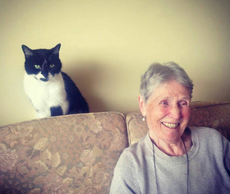 'Digging out old photos for Patricia's life story with My Life Films', shared by  friendofgran , for our Dementia Arts Photo Challenge.