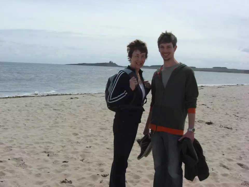 Carol Jennings and her son John Jennings. Image supplied via John Jennings