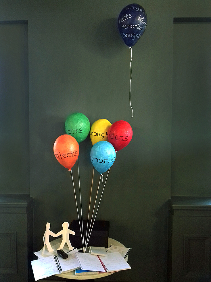 Balloons, 2017, artwork by Jane Twigg. Photo: Charlie Murphy/Created Out of Mind