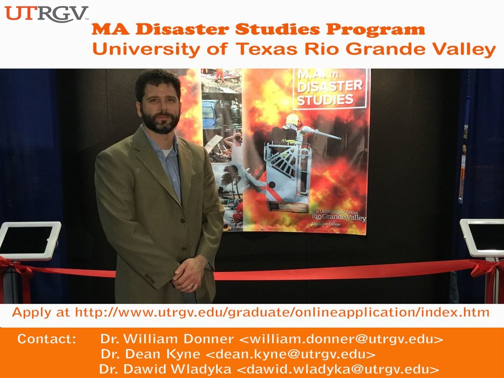 Dr. Donner MA Disaster Studies Booth.jpg