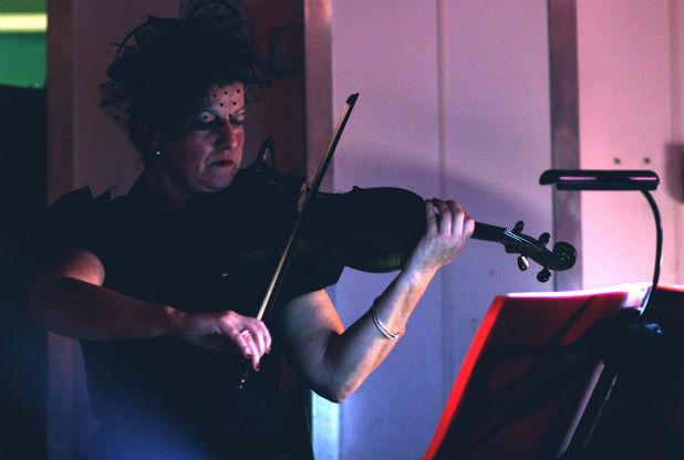 Violinist Juliet Walshe.