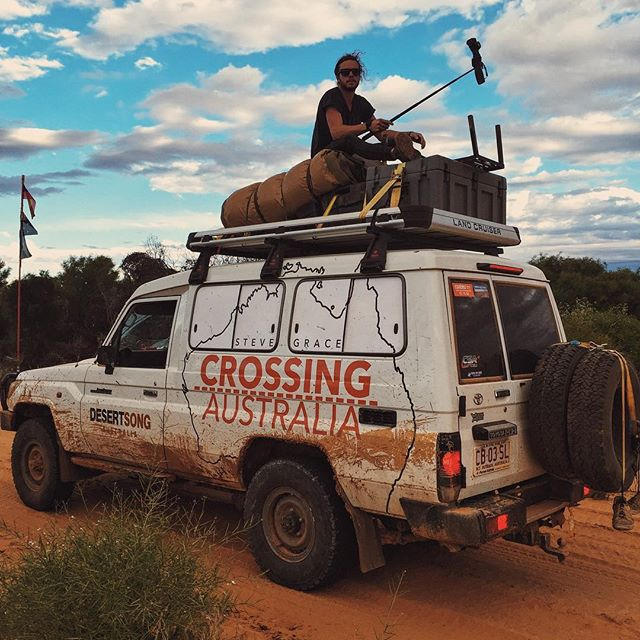 The things you do for a shot.. More pics and footage coming 📽 #editing #crossingaustralia #stevegrace #historymaker #harley #xr1200 #simpsondesert #outbackaustralia