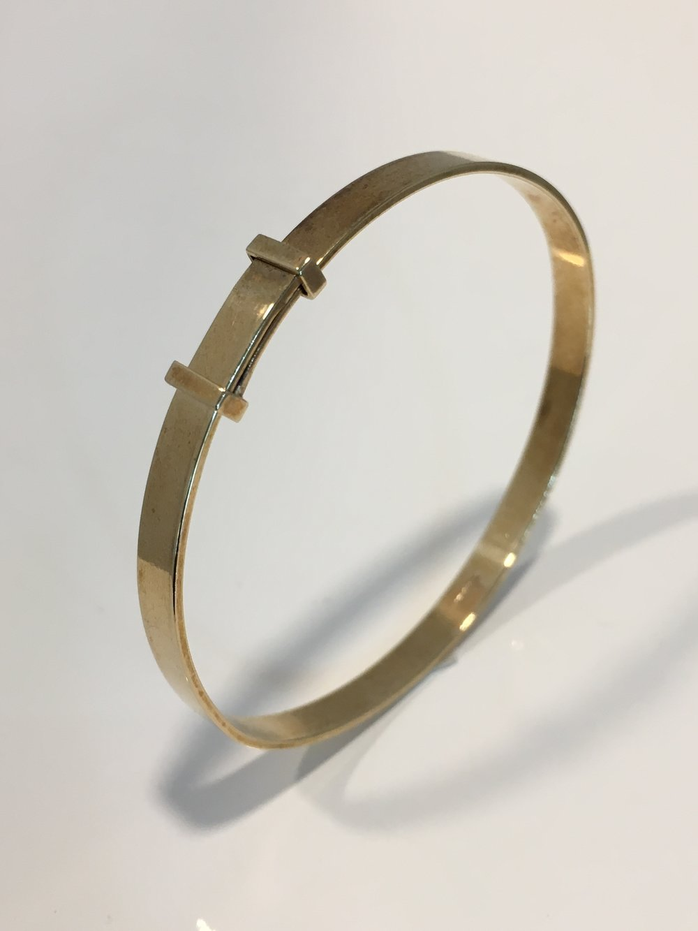 9ct Yellow Gold Expanding Bangle