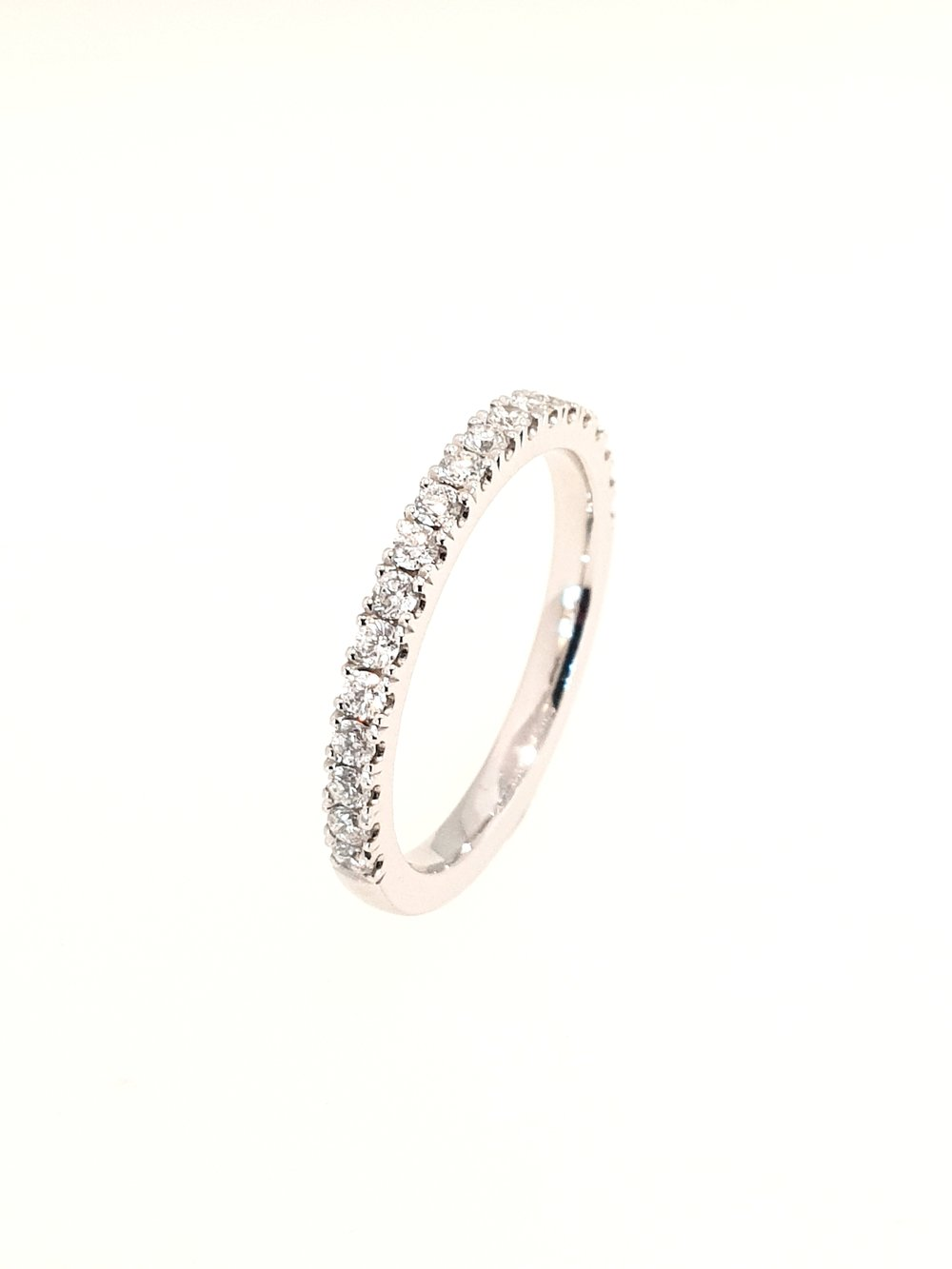 Platinum Eternity Ring  .40ct, F, SI1  Stock Code: N8898  £2100