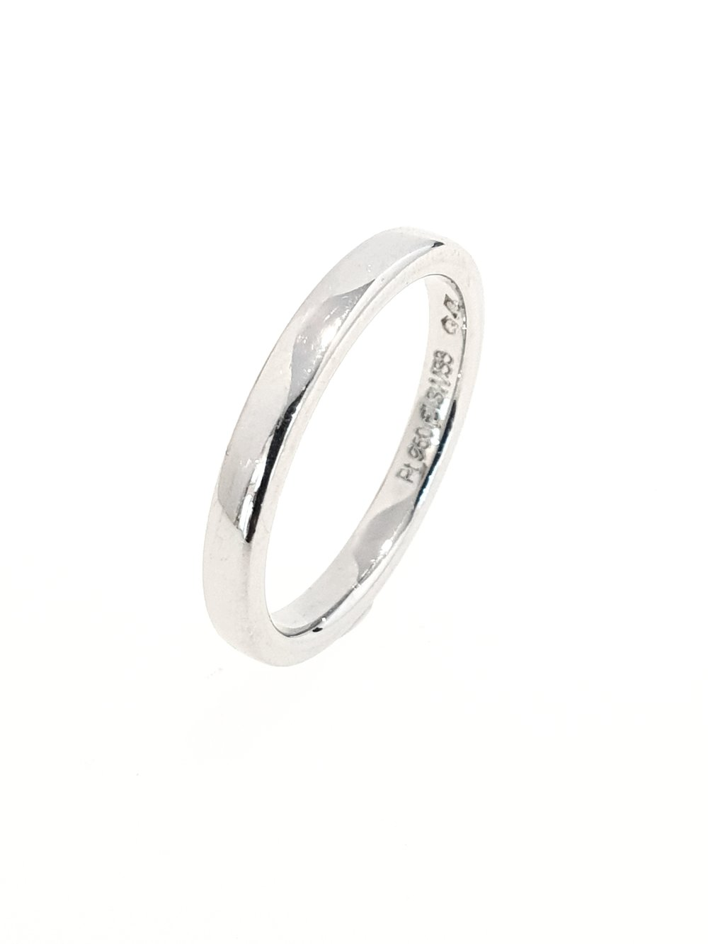 2.5mm Platinum Wedding Ring
