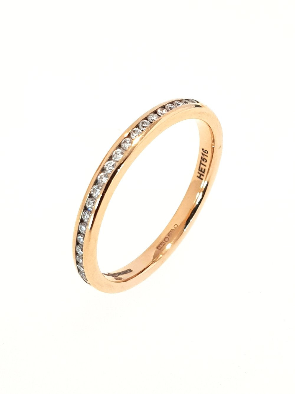 18ct Rose Gold Diamond Ring