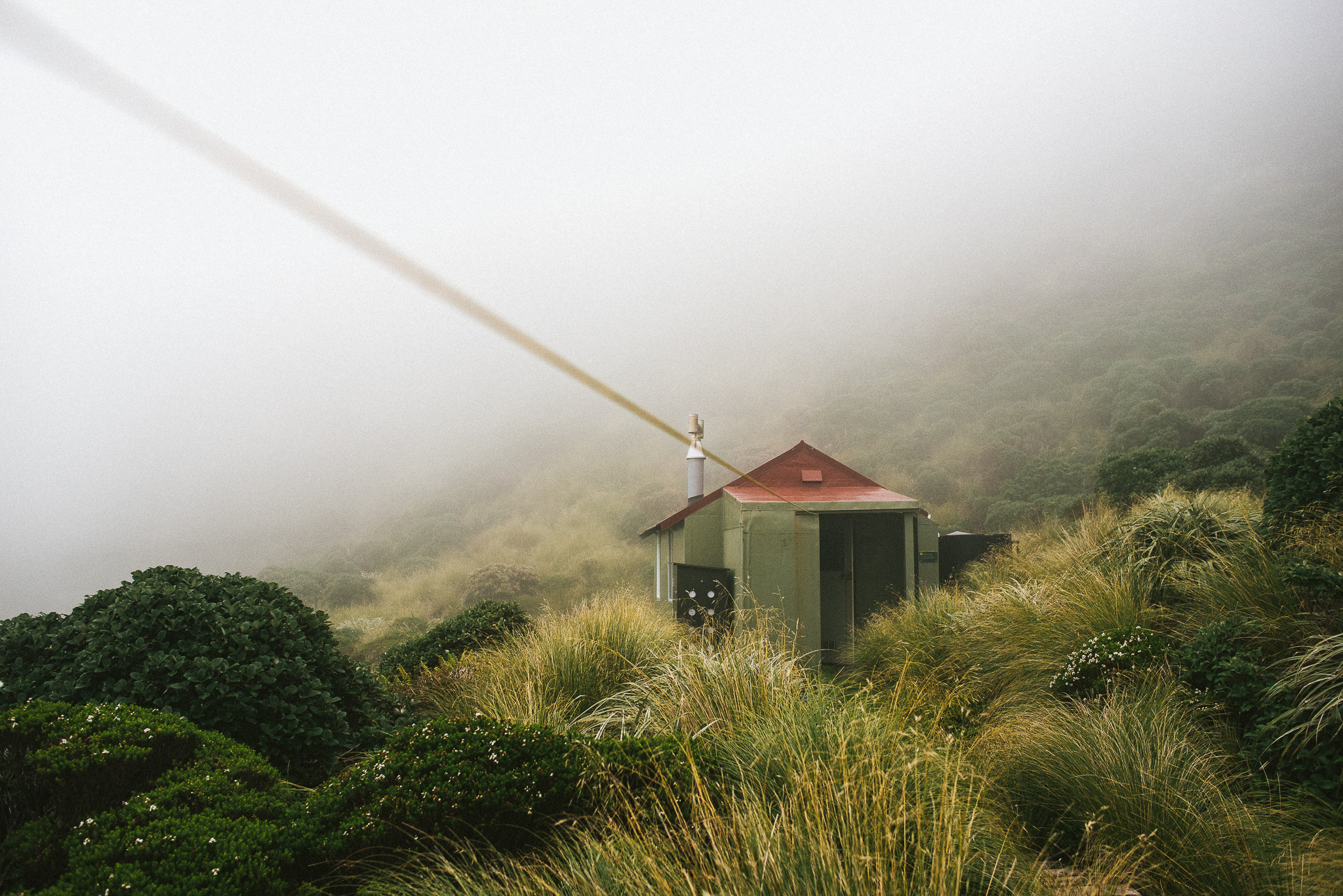 Weather Bomb in the Ruahine Ranges — Lost Zealand
