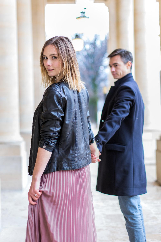 engagement photographer in Paris