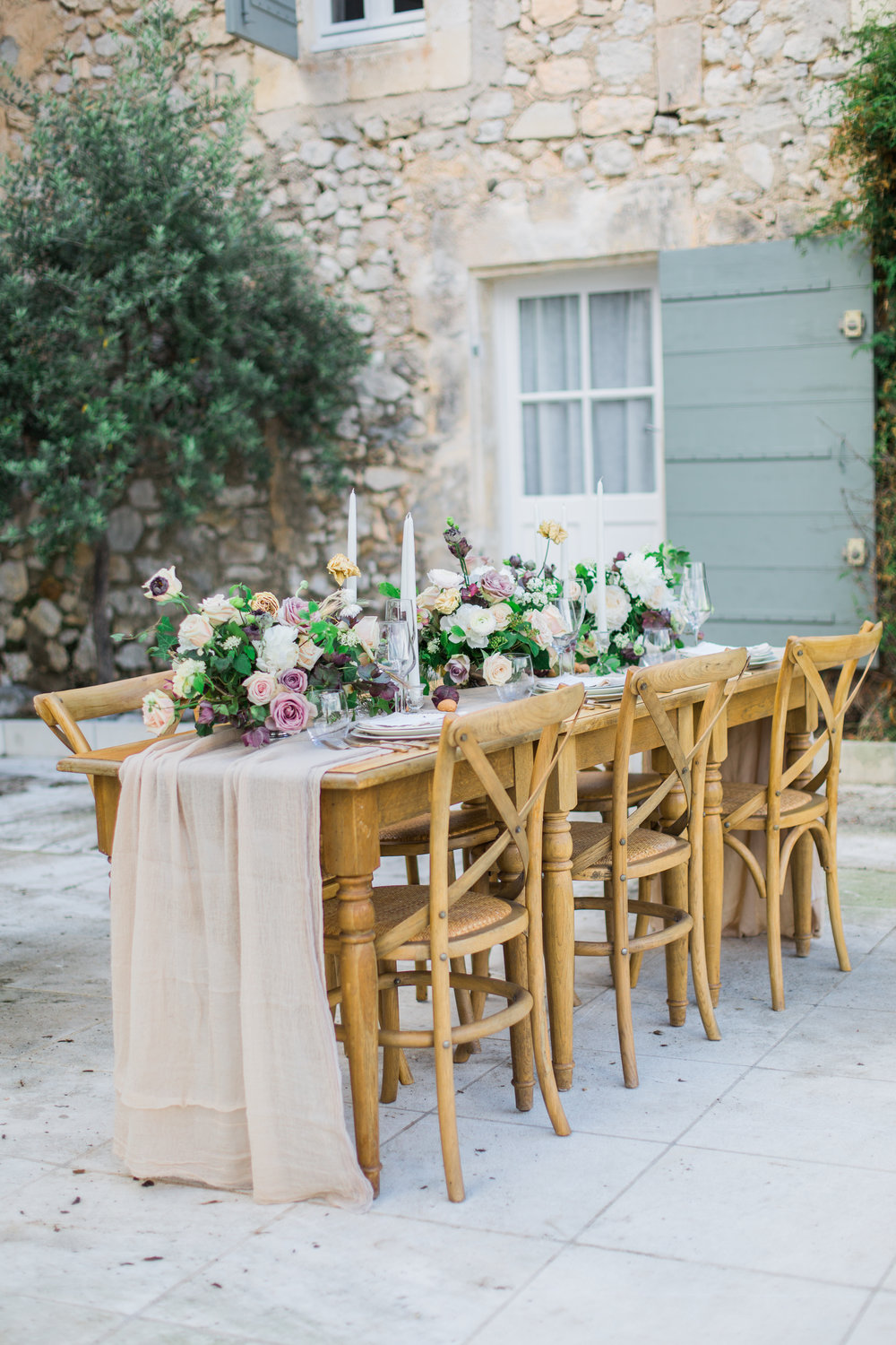 wedding table provence