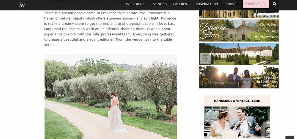 best wedding photographer provence luberon
