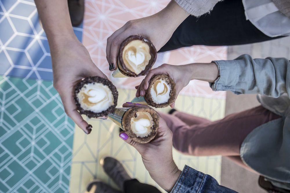 Book to have #CoffeeInACone at your next event -