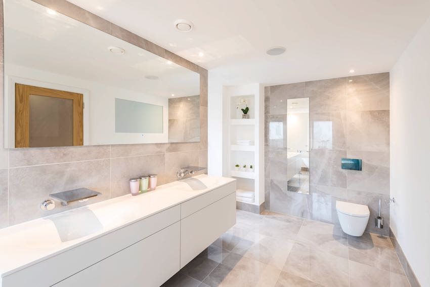 Ripples bathrooms with free standing baths