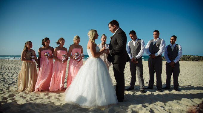 Noosa Beach wedding with Jacqueline Gray, Celebrant