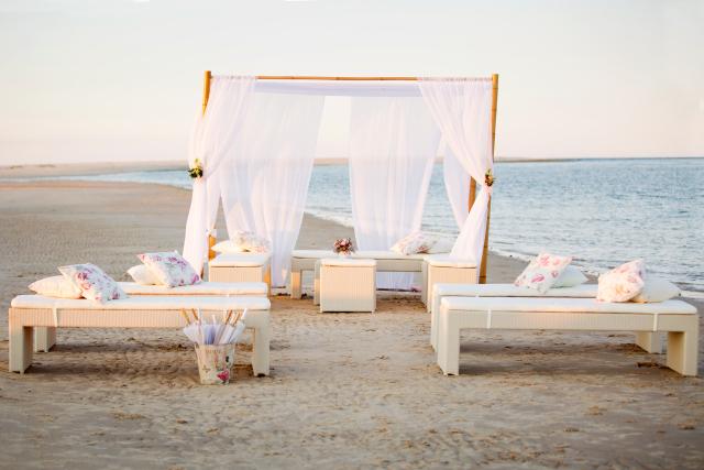 Private Beach Wedding Sunshine Coast