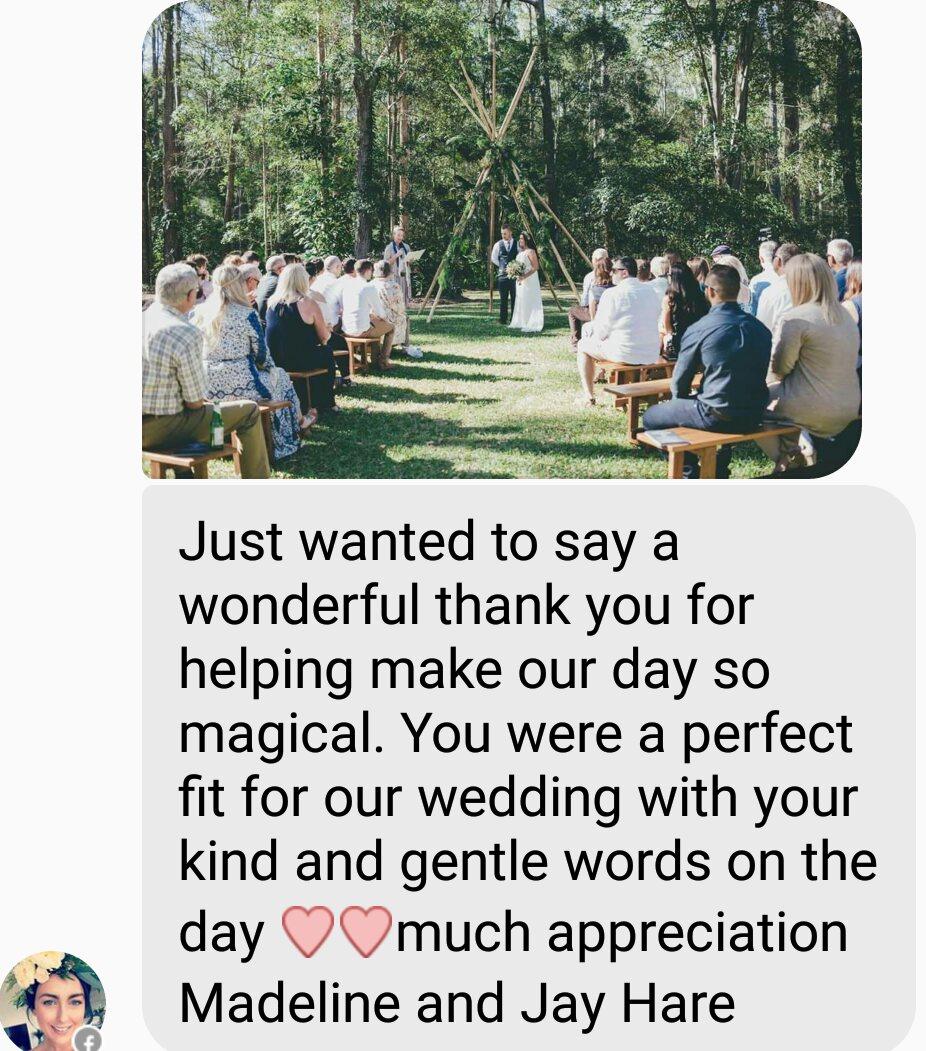 Wedding-celebrant