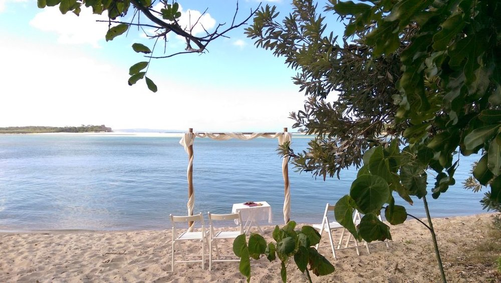 'Sandy Cove', Noosa Heads, accessible only by boat