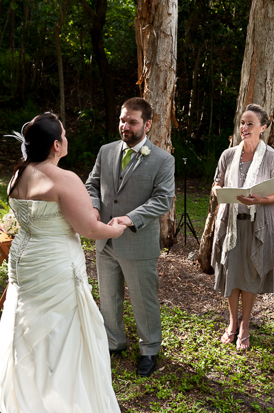Lions Park Noosa Woods. Not the best photo to show the area, but a great option for weddings of all sizes.