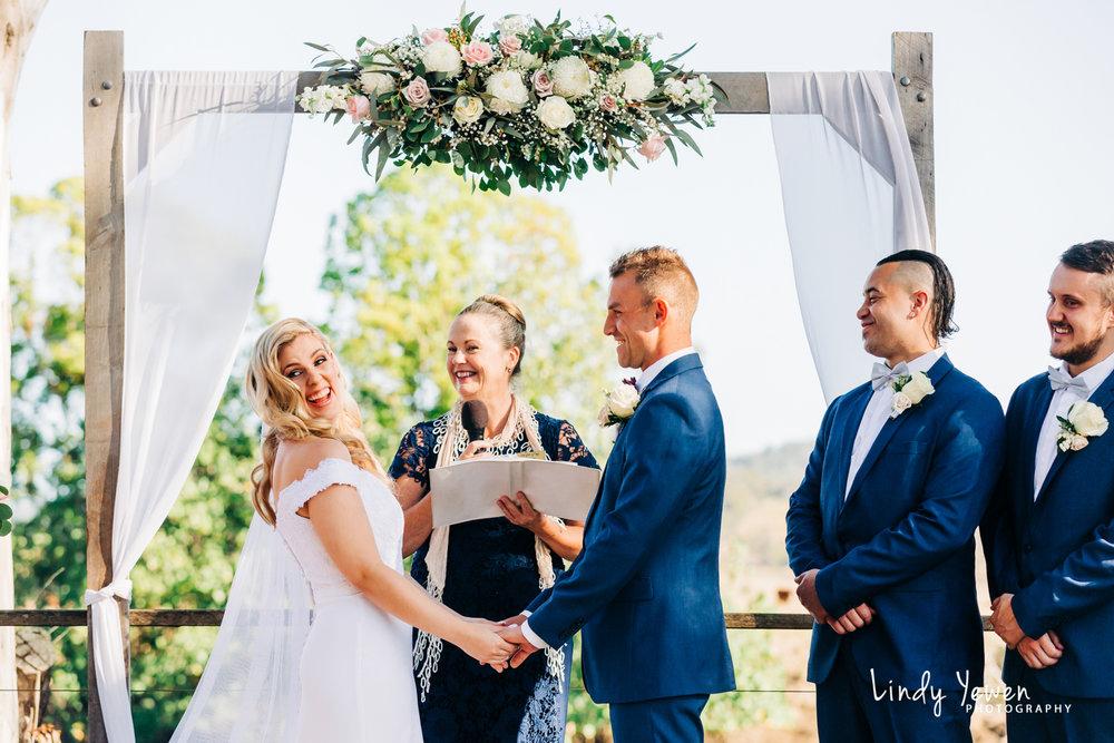 The Rocks Yandina Wedding