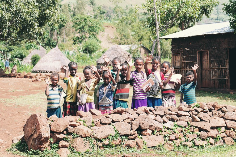 Children in Kalebo Laka are now regularly able to attend school, instead of spending their days sourcing water.  One school and health post in the area has also been provided water by the new water system.
