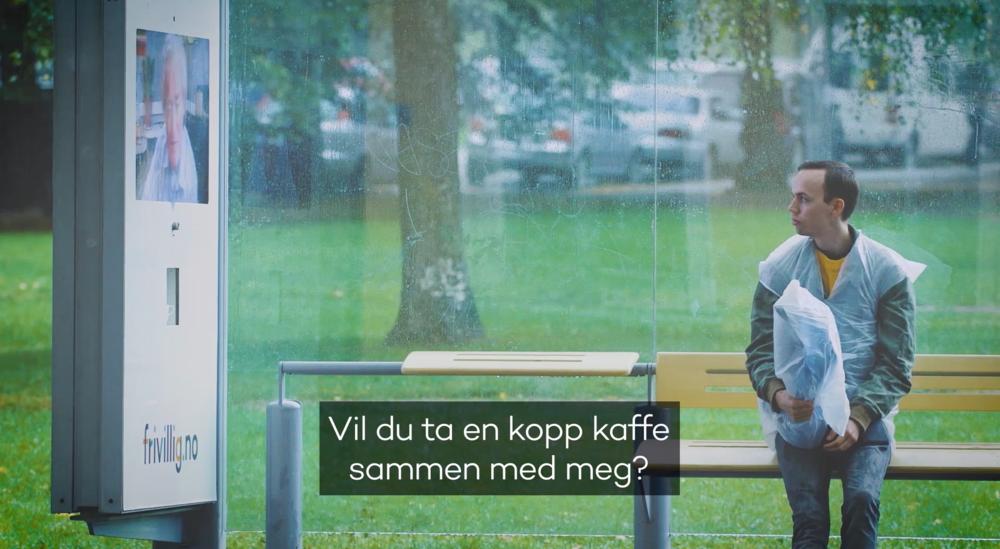 Frivillig kaffepause - Har Norge blitt varmere eller kaldere? En pratsom eldre herre ba fremmede på kaffe. Ville du tatt koppen? Høst/vinter 2017