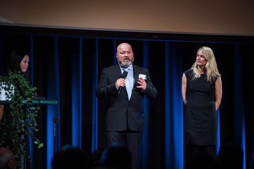 Årets Nykommer 2017 var Frank Sandbye-Ruud fra Team Rubicon. Prisen ble delt ut av fjorårets vinner Sang Bui (Nasjonalforeningen for folkehelsen) og Prosjektleder for Frivillig.no Vanja Konradsen.