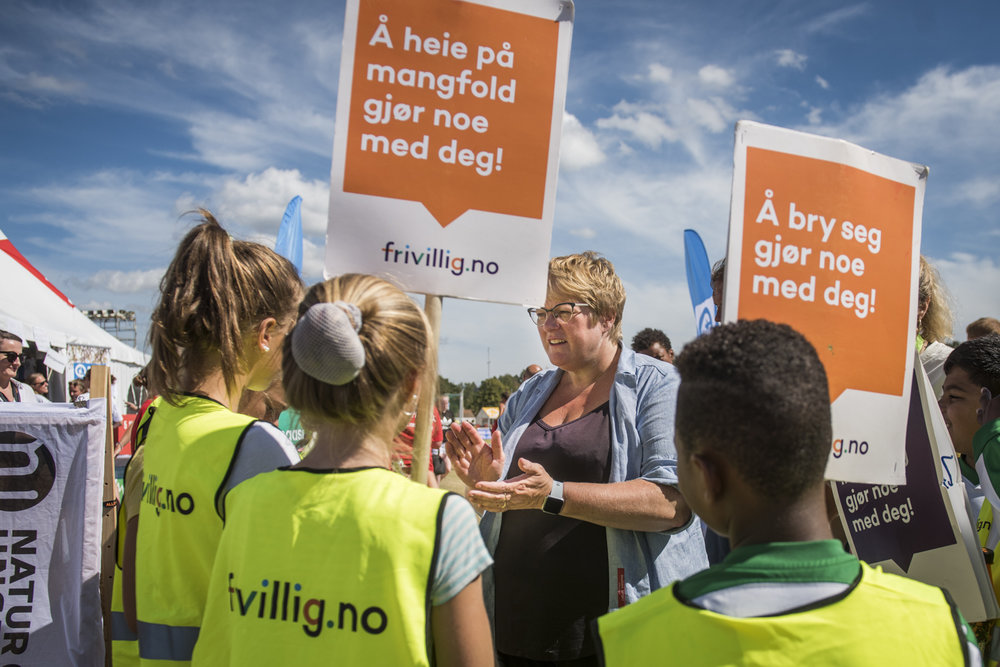 Engasjer deg! - Norway Cup Global goals arena. Sommer 2018