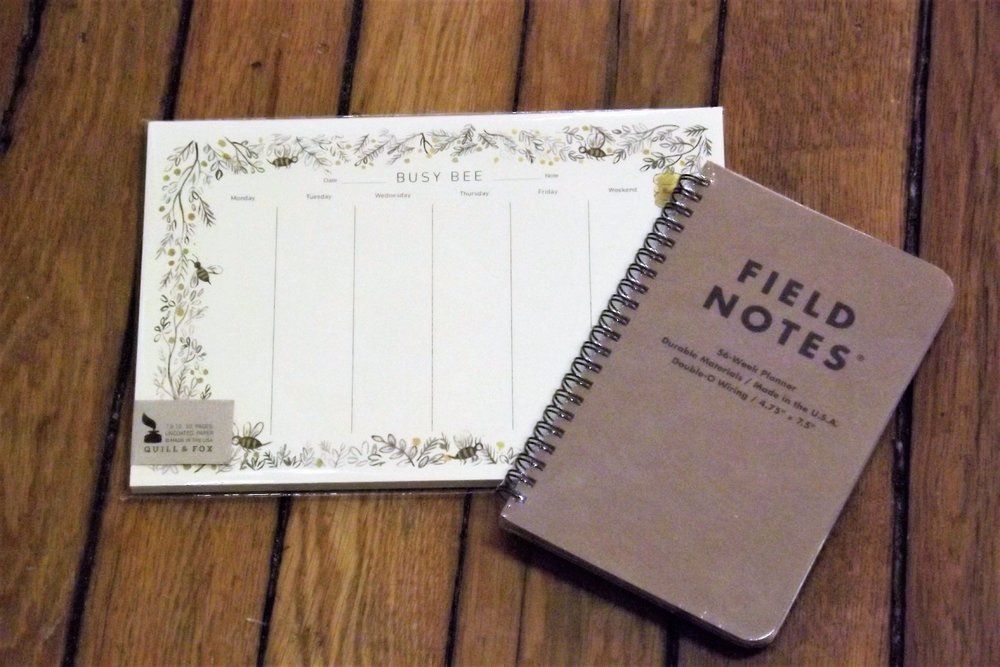 gifts for the planners and list makers wit whimzy marietta