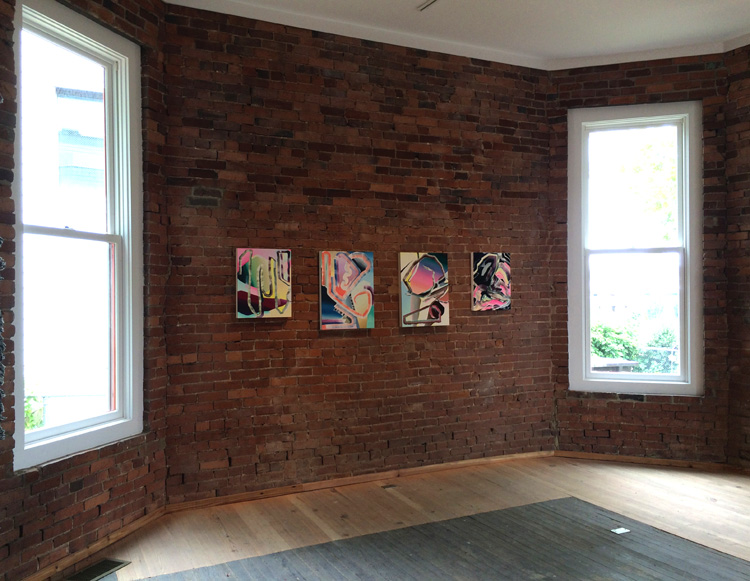 Summer Reading , 2015, curated by Zieher Smith Gallery, Pop up show in Nashville, TN
